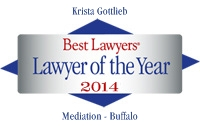 Krista Gottlieb, Best Lawyers' Lawyer of the Year 2014
